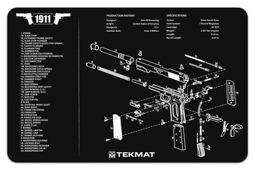 1911 Handgun TekMat