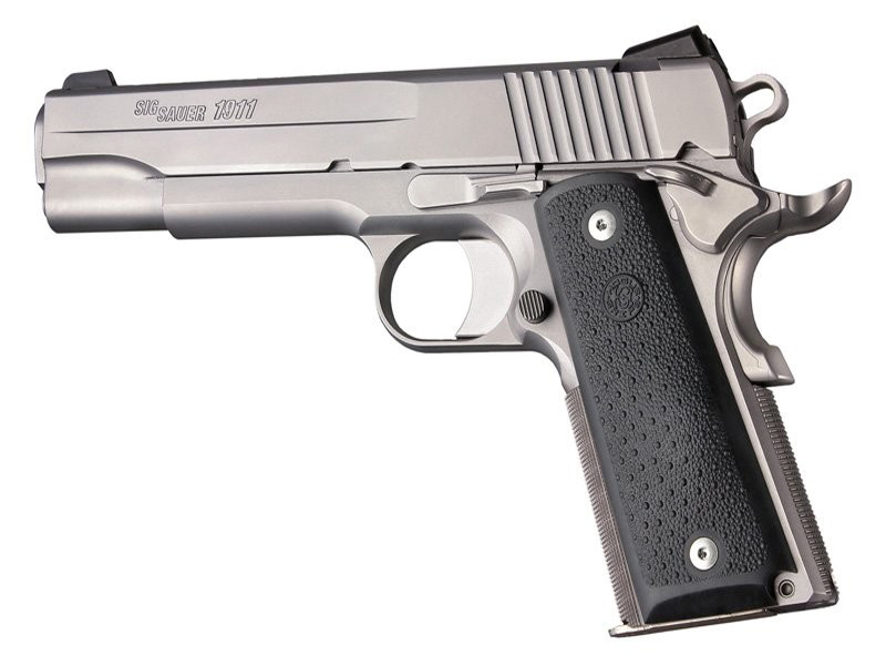 1911 & Colt clones G'ment panel grips black 45090
