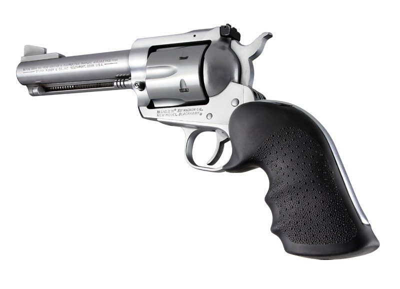 Ruger Blackhawk/single six black rubber 83000
