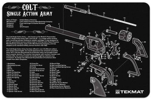Colt Single Action Tekmat
