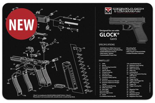 Glock Gen 5 Handgun Mat Tekmat *DNR*