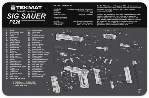 Sig Sauer P226 Tekmat