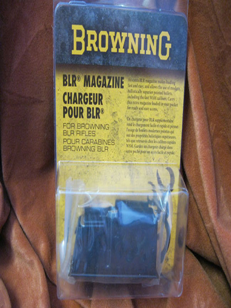 Browning BLR 223 4 round rifle magazine