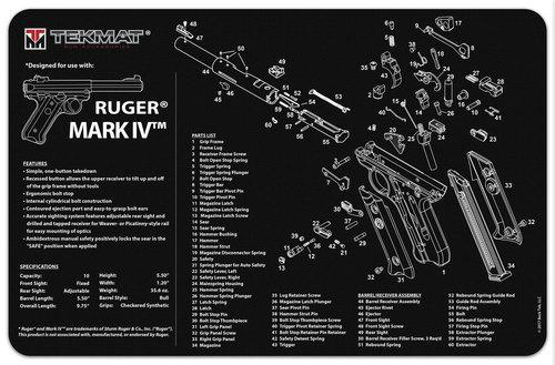 Ruger Mk 4 Handgun TekMat