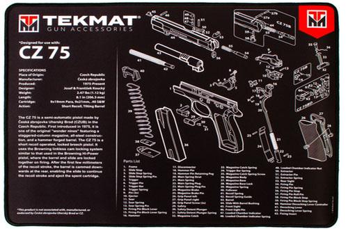 CZ75 Ultra Handgun Mat