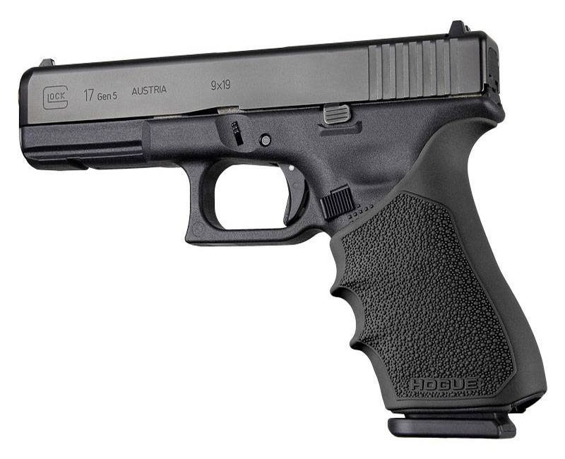 Glock 17 gen 1,2,5 handall with beavertail black 17020