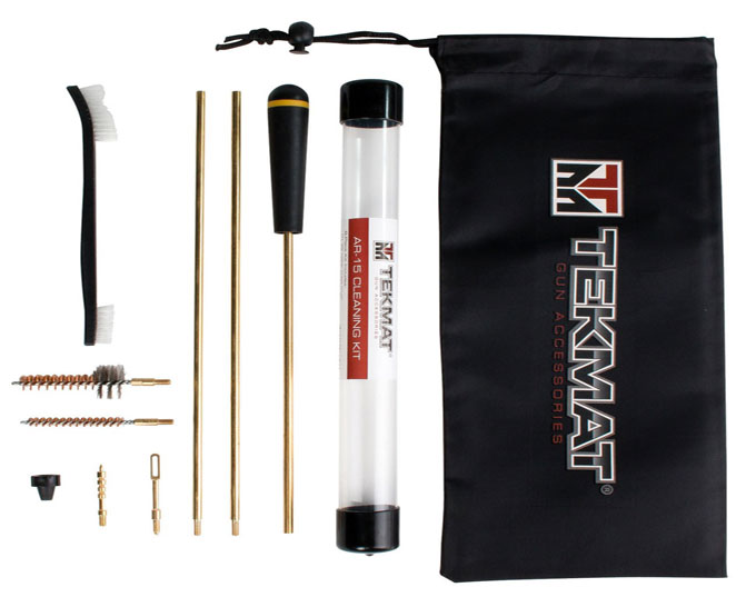 AR15 22 caliber 8 piece Rifle Cleaning Kit Tekmat