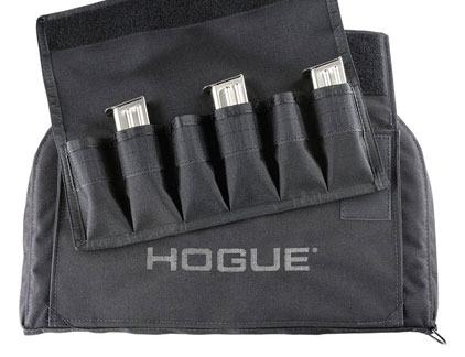 Hogue Large Pistol Bag Black with mag pouches 59260