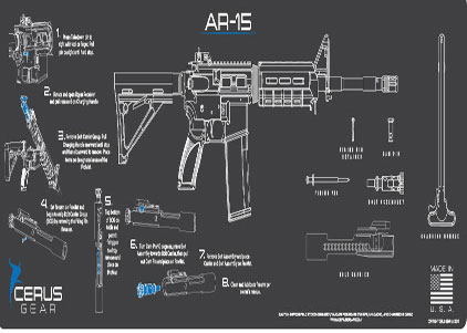 AR15 Rifle ProMat Black