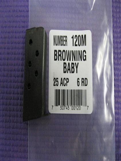 Browning Baby 25 ACP 6 round magazine Triple K
