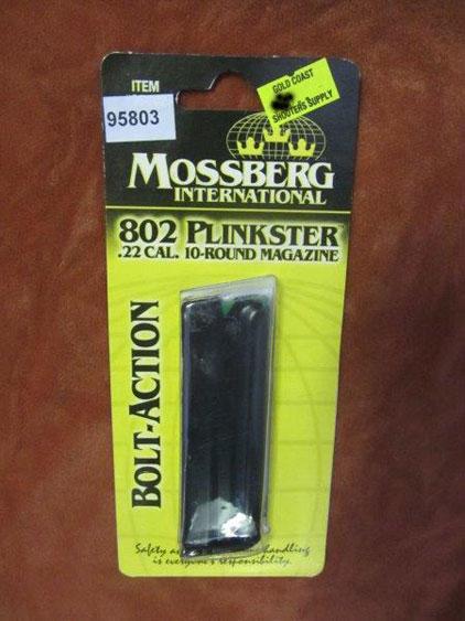 Mossberg 22 LR 10 round magazine Suits 802 Plinkster