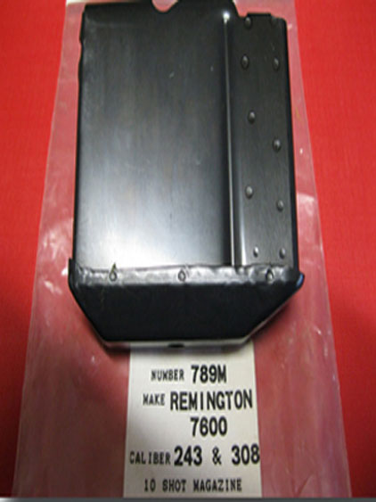 Remington 7600 243 & 308 10 round steel magazine