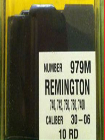 Remington 7600 30-06/270 10 round steel mag