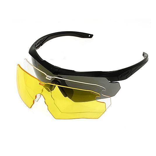 Shooting glasses Crossbow style 3 pack