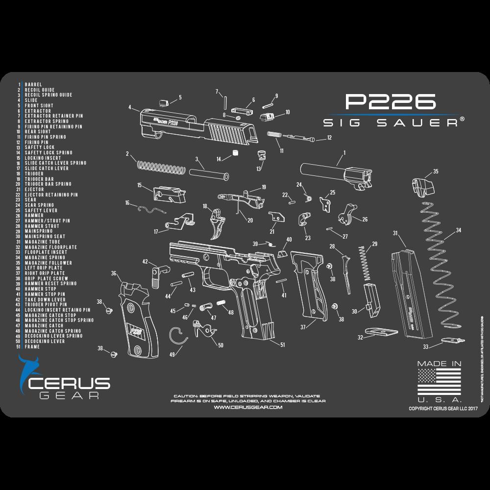Sig Sauer P226 schematic promat
