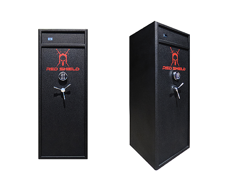 Red Shield 16 Gun Safe electronic + key