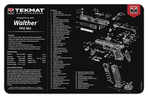 Walther PPQ Mod 2 Handgun mat