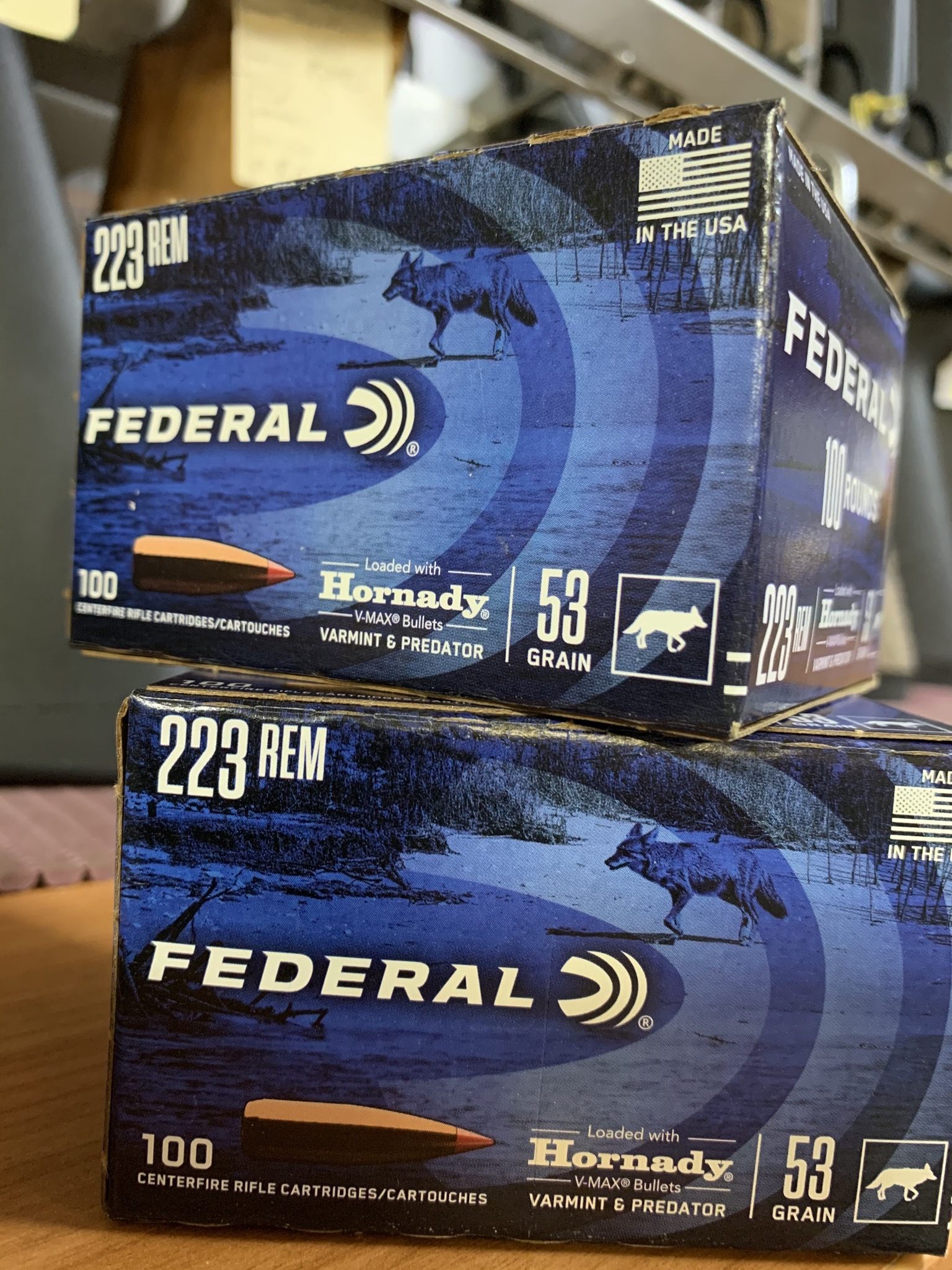 Federal 223 Rem 53 grain bulk pack ammunition (100 rounds)