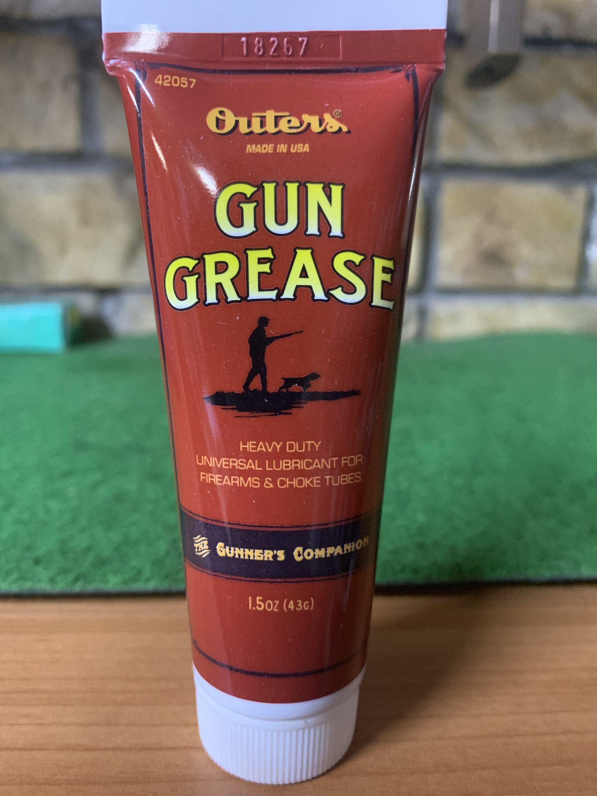 Outers Gun Grease Heavy Duty lubricant 4.3 gram tube