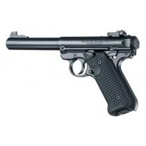 Ruger Mk4 MK IV 22LR Solid Black Piranha G10 Grip 79139